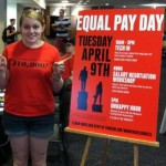 Towson Equal Pay Day 2013 Posters
