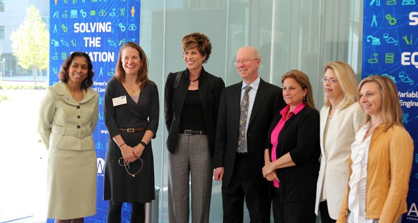 Members of the panel from the launch of AAUW's Solving the Equation report in Silicon Valley