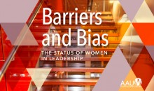 Barriers and Bias: the Status of Women and Leadership research cover art