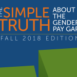 The Simple Truth About the Gender Pay Gap research report cover art (fall 2018)