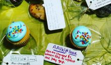University of Iowa student org seels baked good at a discount to women during an Equal Pay Day bake sale fundraiser