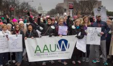 AAUW Delegation at the Women's March on Washington