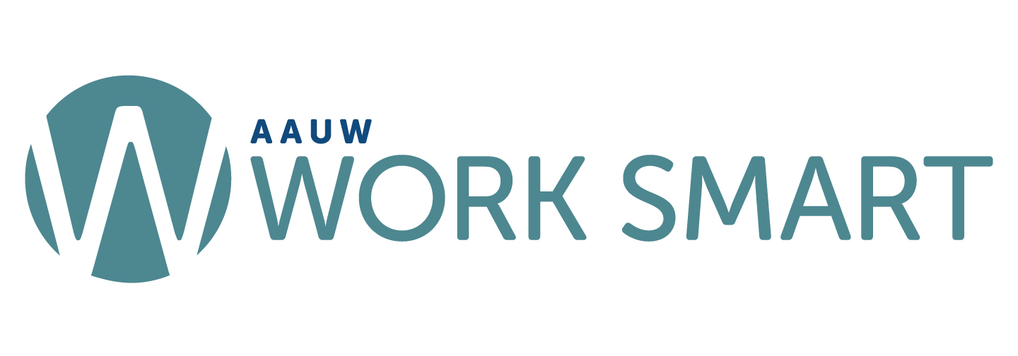 AAUW Work Smart logo horizontal