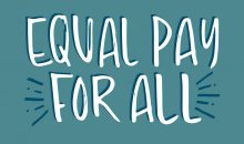 """""""Equal Pay For All"""" Instagram shareable"""