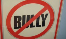 No Bully Zone wall placard