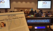 Stand Up For Human Rights UN event
